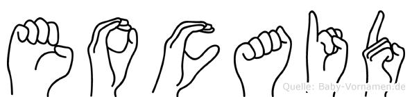 Eocaid in Fingersprache für Gehörlose