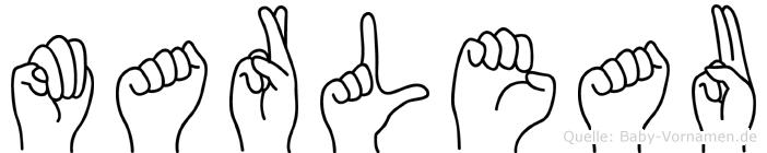 Marleau in Fingersprache für Gehörlose