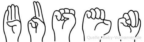 Busen in Fingersprache für Gehörlose