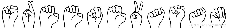 Sreenevasan in Fingersprache für Gehörlose
