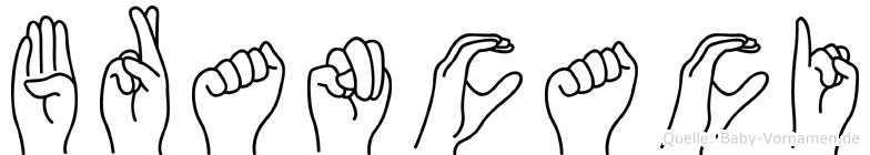 Brancaci in Fingersprache für Gehörlose