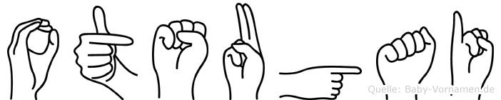 Otsugai im Fingeralphabet der Deutschen Gebärdensprache
