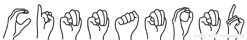 Cinnamond in Fingersprache für Gehörlose