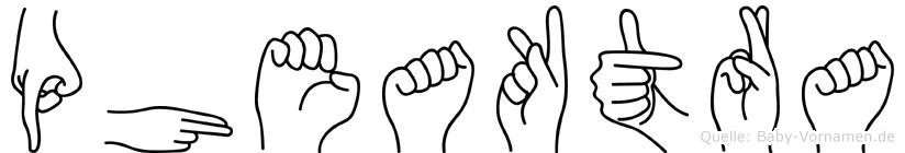 Pheaktra in Fingersprache für Gehörlose