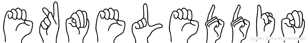 Ekmeleddin in Fingersprache für Gehörlose