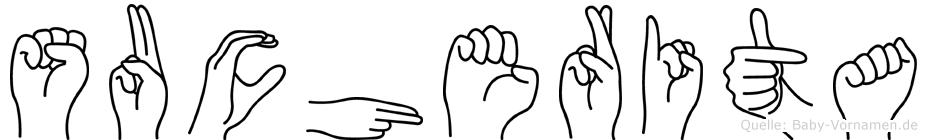 Sucherita in Fingersprache für Gehörlose