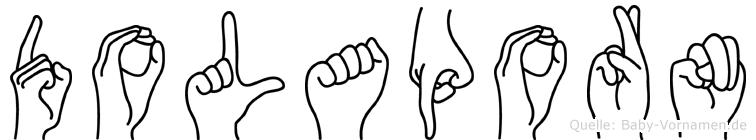 Dolaporn in Fingersprache für Gehörlose