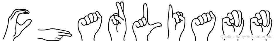 Charliann in Fingersprache für Gehörlose