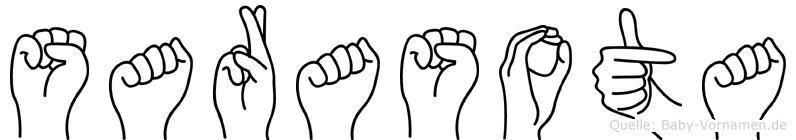 Sarasota in Fingersprache für Gehörlose