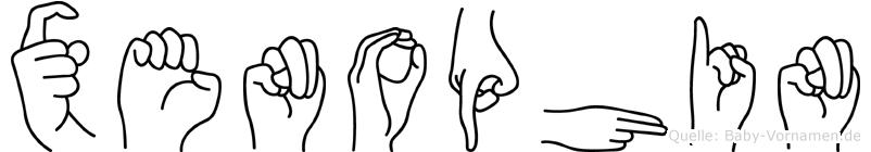 Xenophin in Fingersprache für Gehörlose