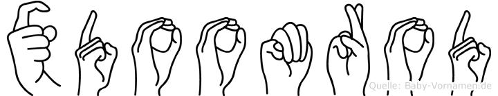 Xdoomrod in Fingersprache für Gehörlose
