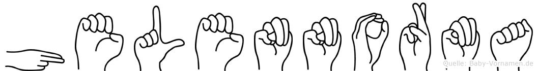 Helennorma in Fingersprache für Gehörlose