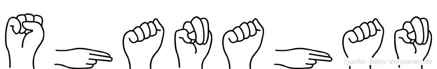 Shanahan in Fingersprache für Gehörlose