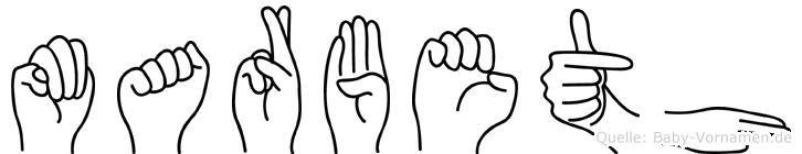 Marbeth in Fingersprache für Gehörlose