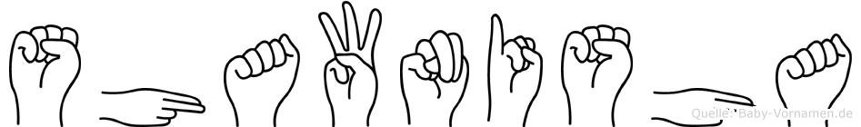Shawnisha in Fingersprache für Gehörlose