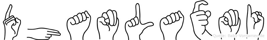 Dhanlaxmi in Fingersprache für Gehörlose