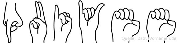 Puiyee in Fingersprache für Gehörlose