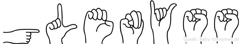 Glenyss in Fingersprache für Gehörlose