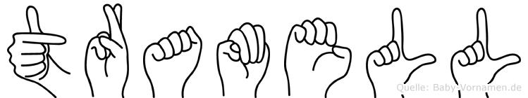 Tramell in Fingersprache für Gehörlose
