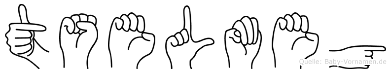 Tselmeg in Fingersprache für Gehörlose