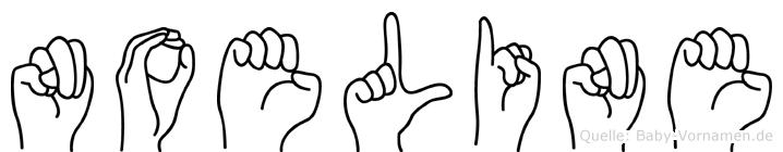 Noeline in Fingersprache für Gehörlose