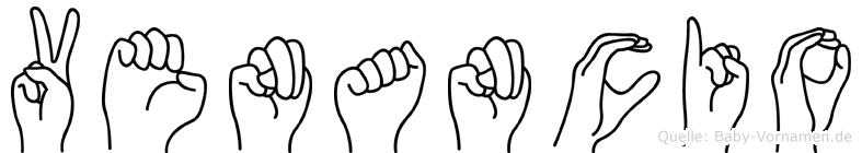 Venancio in Fingersprache für Gehörlose