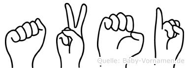 Avei in Fingersprache für Gehörlose