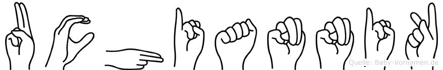 Uchiannik in Fingersprache für Gehörlose