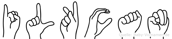 Ilkcan im Fingeralphabet der Deutschen Gebärdensprache