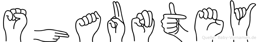 Shauntey in Fingersprache für Gehörlose