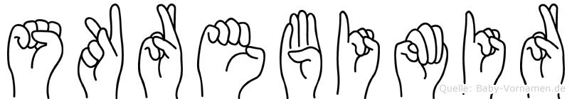 Skrebimir in Fingersprache für Gehörlose
