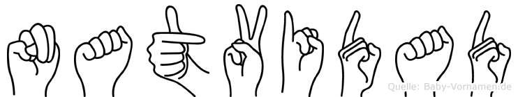 Natvidad in Fingersprache für Gehörlose
