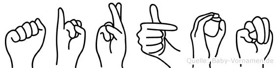 Airton in Fingersprache für Gehörlose