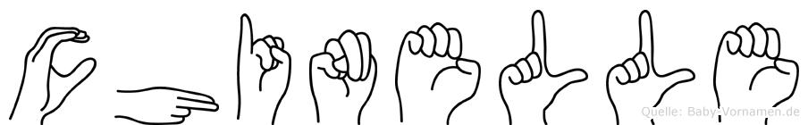 Chinelle in Fingersprache für Gehörlose