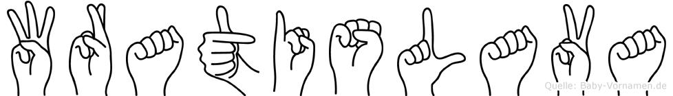Wratislava in Fingersprache für Gehörlose