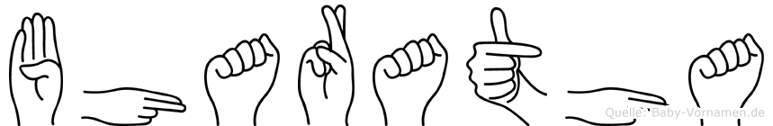 Bharatha in Fingersprache für Gehörlose