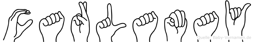 Carlamay in Fingersprache für Gehörlose