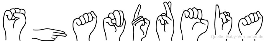 Shandreia in Fingersprache für Gehörlose