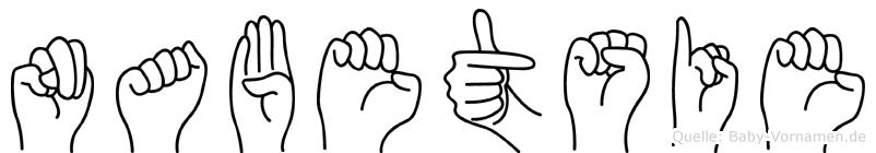 Nabetsie in Fingersprache für Gehörlose