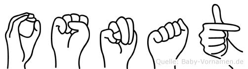 Osnat in Fingersprache für Gehörlose