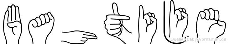 Bahtije in Fingersprache für Gehörlose