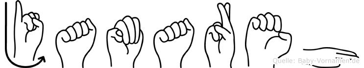 Jamareh in Fingersprache für Gehörlose