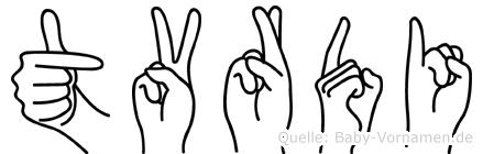 Tvrdi in Fingersprache für Gehörlose