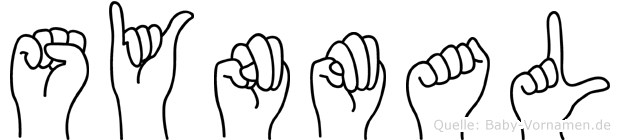 Synmal im Fingeralphabet der Deutschen Gebärdensprache