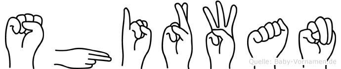 Shirwan in Fingersprache für Gehörlose