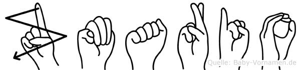 Zmario in Fingersprache für Gehörlose