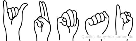 Yumai in Fingersprache für Gehörlose
