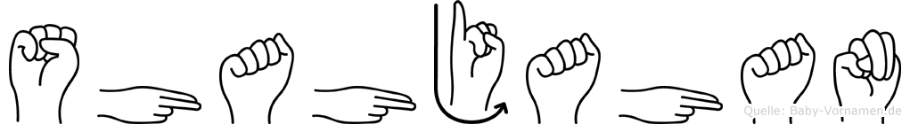 Shahjahan im Fingeralphabet der Deutschen Gebärdensprache