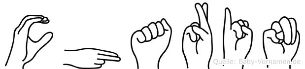 Charin in Fingersprache für Gehörlose