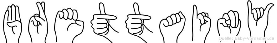 Brettainy in Fingersprache für Gehörlose
